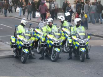 Gangs of rogue biker cops rule the streets in London