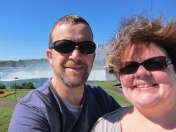 Us @ Horseshoe Falls