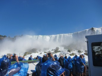 Getting up close to American Falls