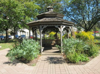 Pagoda in the park
