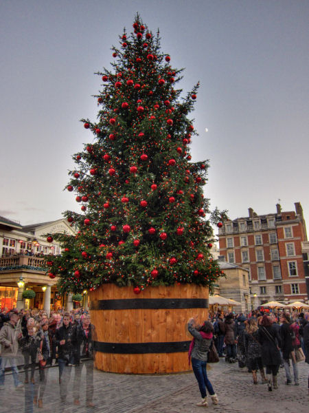 Christmas tree @ Covent Garden