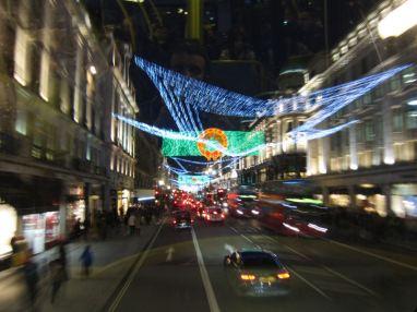 Christmas lights @ Regent Street