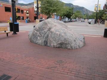The Boulder boulder?