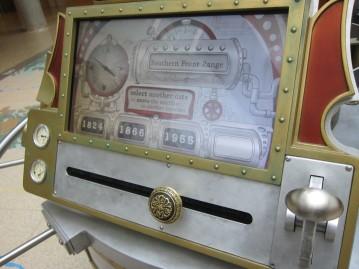 Time machine controls