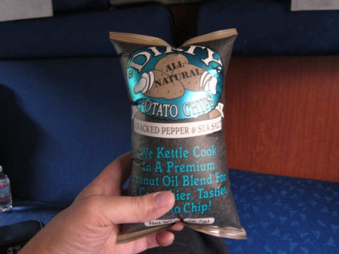 high altitude potato chips