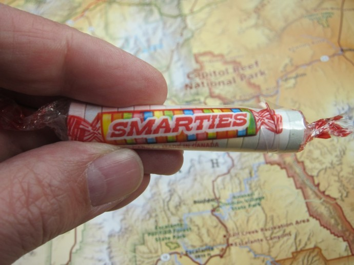 Smarties means something different here