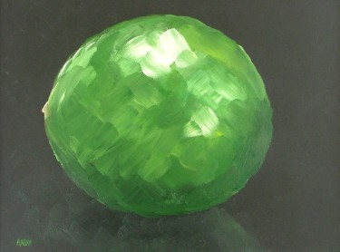 Lime (40x30cm acrylic January 2006)