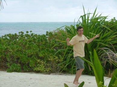 """""""Run like a lizard, Andy! Or... like a girl... whatever"""""""
