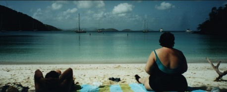 John & Michelle at Maho Bay