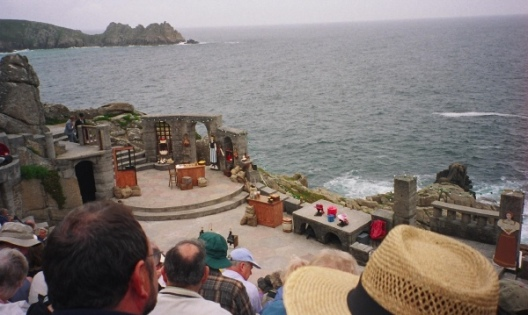 The Minack Theatre is an open air theatre on the South Coast of Cornwall, close to Porthcurno.