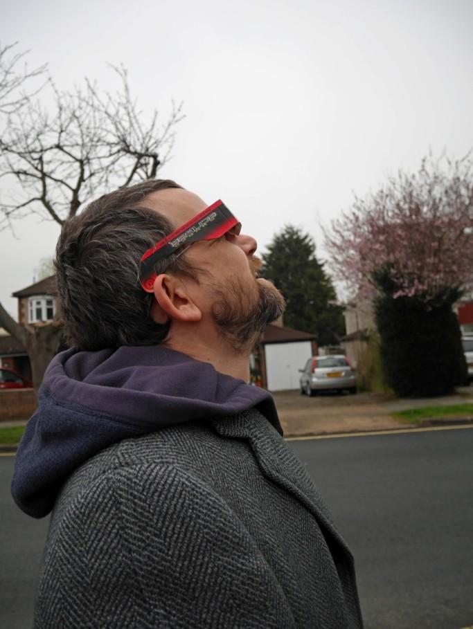 Eclipse spotting