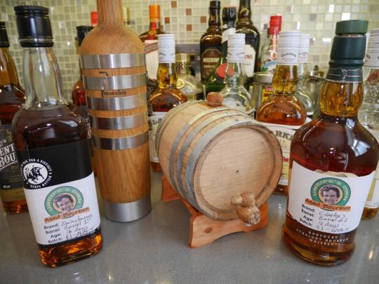 Barrel aged whisky