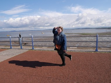 Doing the Morecambe walk