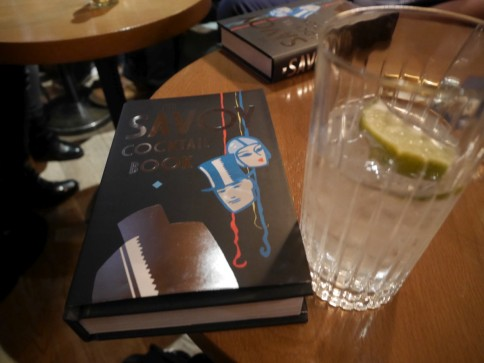 Dorelli signed Savoy Cocktail Book
