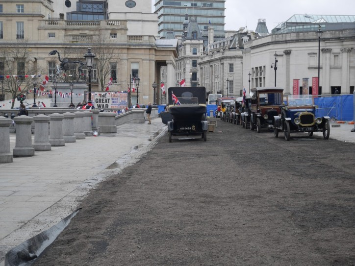 WWI filming on T Square