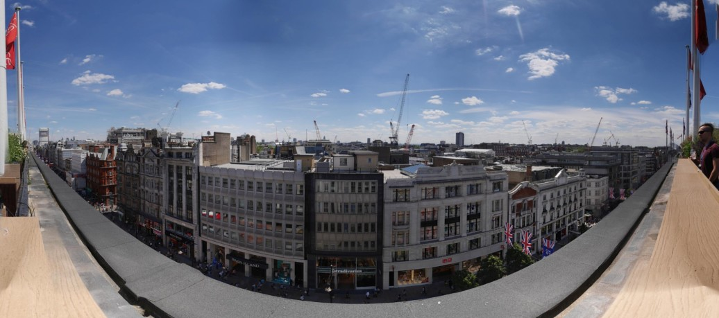 Oxford St from JL roof