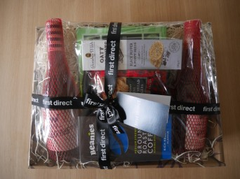 I complained to First Direct and got a hamper!