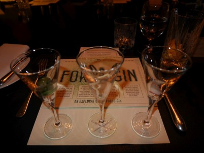 "Simon Ford explained, ""In America they have a three-martini lunch, we have a three-martini starter!"""
