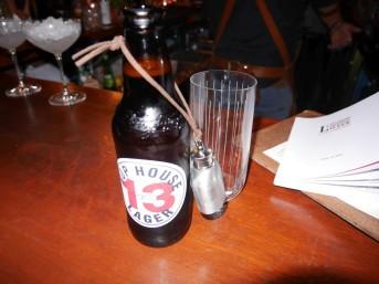 Retro Bar - Boilermaker (beer & a shot of bourbon)