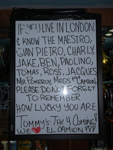 Tommy's in London!