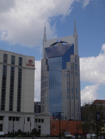 Every building should just be itself. Unless it can be Batman.