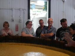 Tasting the distiller's beer