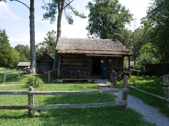 Mark Twain family cabin