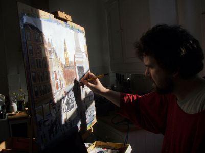 Still working on Trafalgar Square
