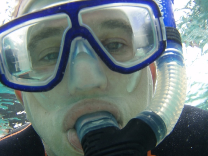 'Isn't snorkelling brilliant?'