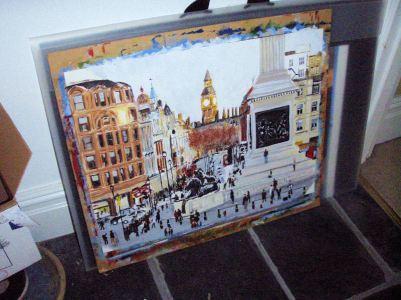 Unfinished Trafalgar Square