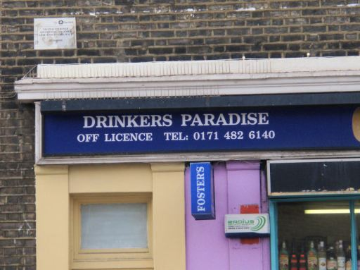 Drinkers Paradise - it's a real place!