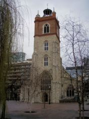 St. Gile Cripplegate Church at Barbican
