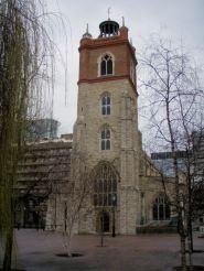 St. Gile Cripplegate Church at Barbican