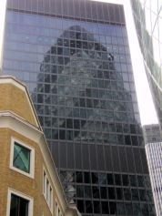 30 St. Mary Axe from a different perspective