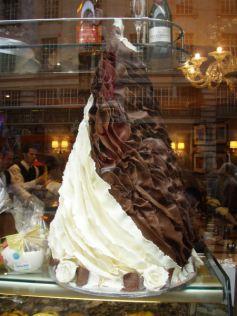 Regent Street chocolate cakes...