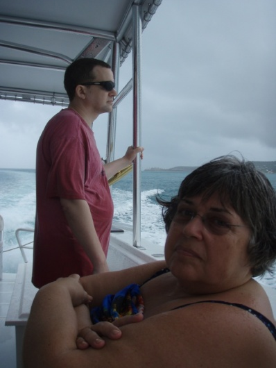 the day our eco-tour boat trip was rained off :(