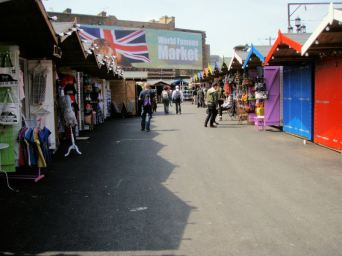 there are 200 stalls (150 more than the old market)