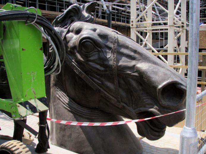 Big horse head