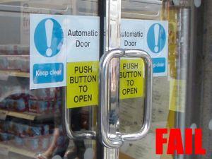 Automatic fail