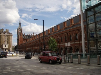 St. Pancras from a different perspective
