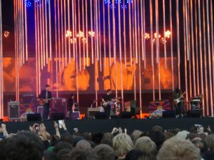 Radiohead at Victoria Park