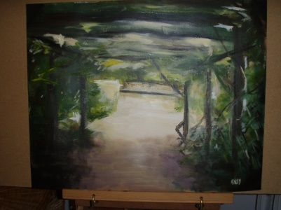 Drunken painting