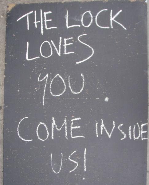 The Lock bar, Camden