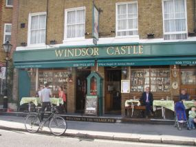 The Windsor Castle, Crawford Street (home of the Handlebar Club)