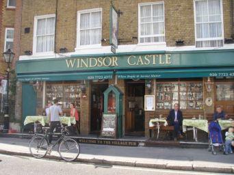 The Windsor Castle, Crawford Street (home of the Handlebar Club)