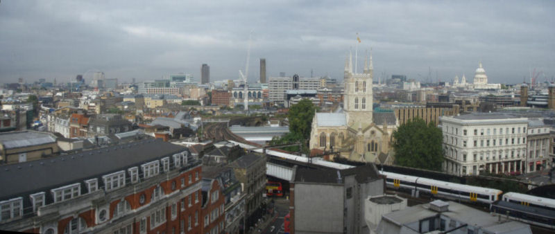 View from New London Bridge House
