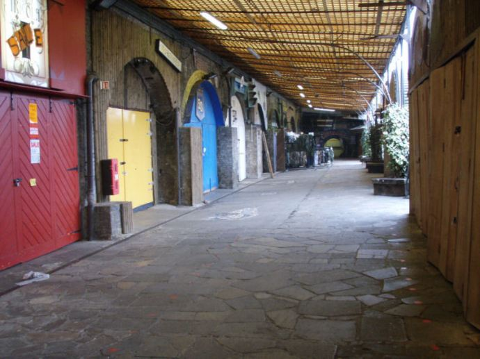 Stables Market closed for redevelopment