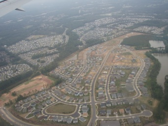 Sprawling + Raleigh = Sprawleigh