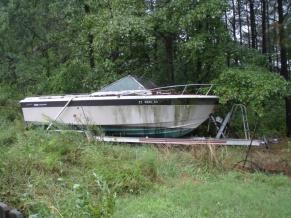 ...that boat next door might come in handy