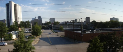 view of Raleigh from 18 Seaboard